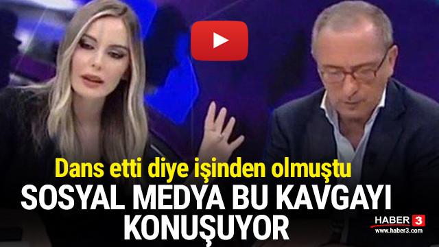 Hande Sarıoğlu'nun Fatih Altaylı ile kavgası yeniden gündem oldu