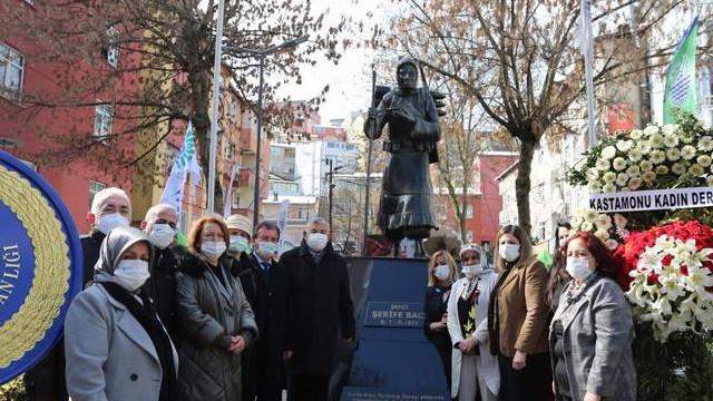Sarıyer Belediyesi ''Şerife Bacı''yı unutmadı
