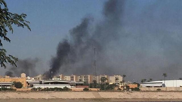 Bağdat'ta Yeşil Bölge'ye roketli saldırı
