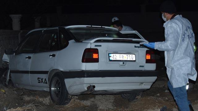 Kontrolden çıkan otomobil bahçe duvarına çarptı: 1 ölü