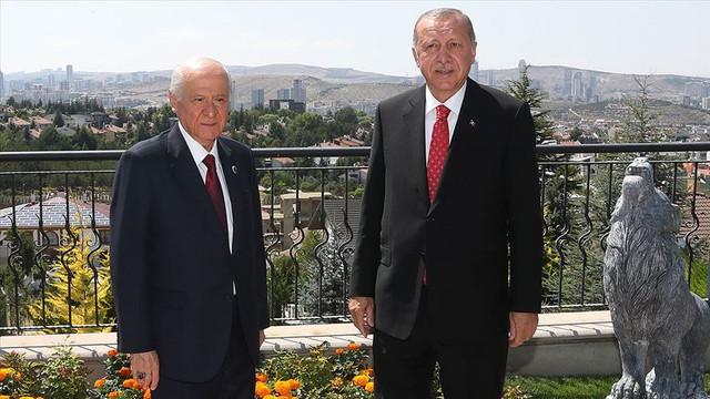 Bahçeli, Erdoğan'ın doğum gününü kutladı