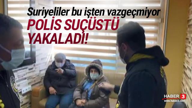 Suriyelilerin kaçak diş kliniğine polis baskını