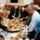Erdoğan yer sofrasında iftar yaptı