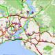 İstanbul'da trafik durma noktasında; yoğunluk yüzde 80!