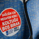 Ankara'da EGO otobüslerinde sosyal mesafe farkındalığı