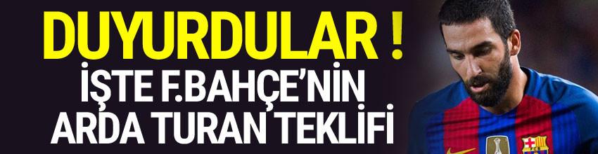 Fenerbahçe'den Arda Turan hamlesi