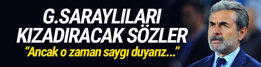 Aykut Kocaman'dan Galatasaray'a şok gönderme