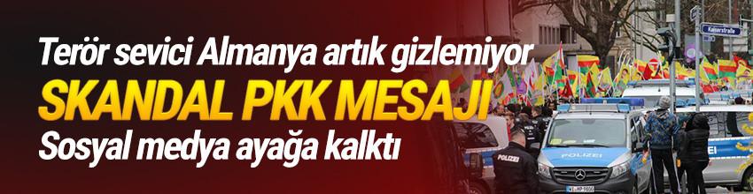 Alman polisi açık açık yazdı: PKK için görevdeyiz