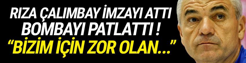 Rıza Çalımbay, Trabzonspor'a imzayı attı