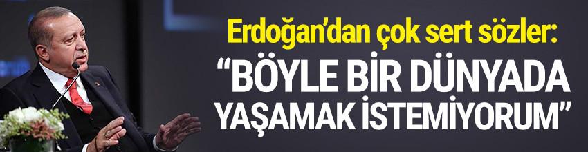 Erdoğan'dan AB ve ABD hakkında sert sözler