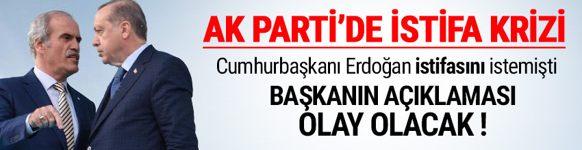 İstifası beklenen Bursa Büyükşehir Belediye Başkanı'ndan ilk açıklama