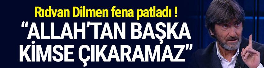 Rıdvan Dilmen: ''Bu formayı sadece Allah çıkartır''