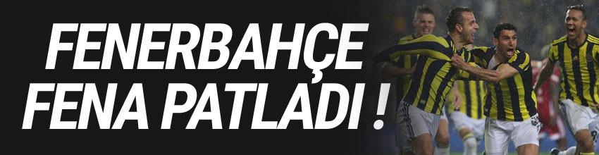Fenerbahçe- Sivasspor: 4-1