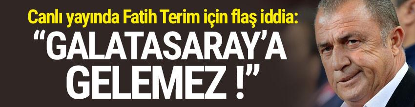 Rasim Ozan Kütahyalı: ''Fatih Terim Galatasaray'a gelemez''