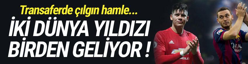 Galatasaray, Vermaelen ve Rojo'nun peşinde !