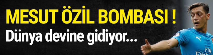 Barcelona'dan Mesut Özil bombası
