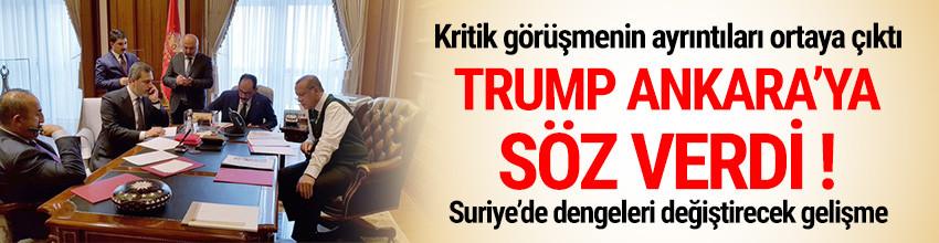 İşte Trump-Erdoğan görüşmesinin ayrıntıları