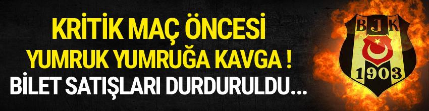 Gaziantepspor'da yumruk yumruğa kavga !