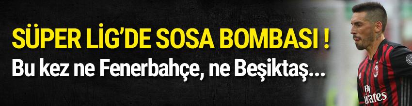 Antalyaspor'dan Jose Sosa bombası