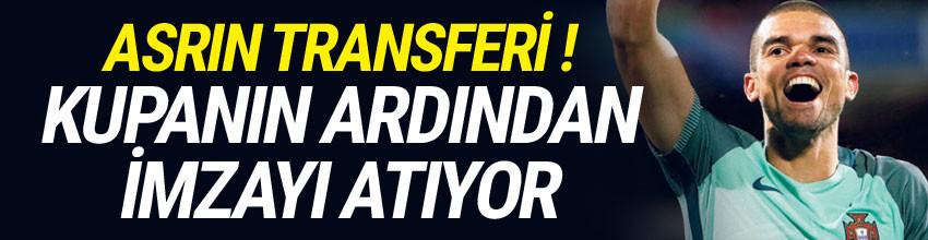 Pepe, Beşiktaş'a imzayı atıyor !