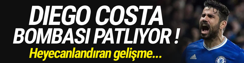 Fenerbahçe, Diego Costa'yı bitiriyor
