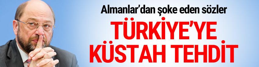 Almanlar'dan Türkiye'ye küstah tehdit