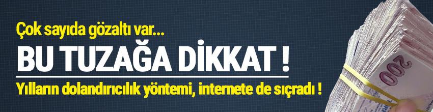 İnternetteki yeni dolandırıcılık yöntemi: Kaparo !
