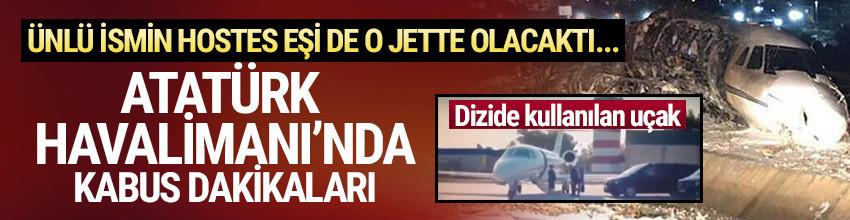 Atatürk Havalimanı'nda uçak kazası