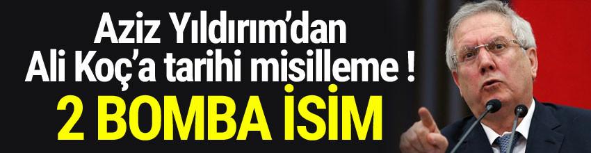 Aziz Yıldırım'dan Murat Ülker ve Ferit Şahenk bombası