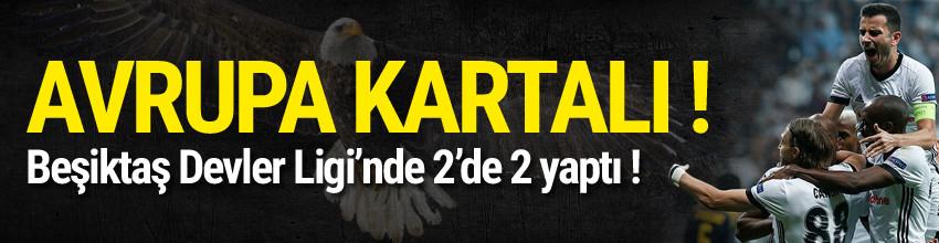 Beşiktaş Avrupa'da tarih yazıyor !