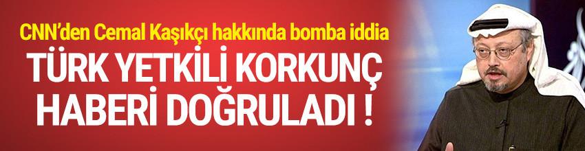 Türk yetkili Cemal Kaşıkçı haberini doğruladı