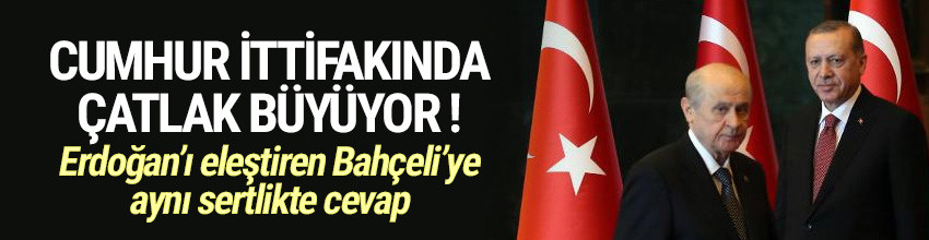 AK Parti'den Bahçeli'ye: Cumhurbaşkanımızı tanımamış