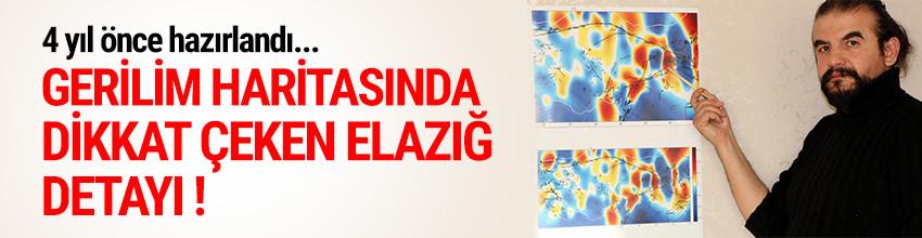 Elazığ'daki depremle ilgili dikkat çeken detay !