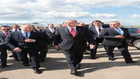 Erdoğan ve Putin SU-57 uçağını inceledi