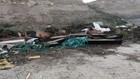 Denizli'de virüslü tabut ve kıyafetler yol kenarına atıldı