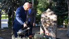 Bahçeli Alparslan Türkeş'in mezarını ziyaret etti