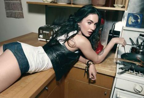 Megan Foxdan özel pozlar