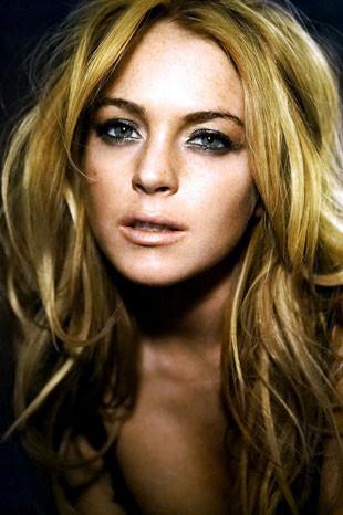 Lindsay Lohan Zoo Magazin için poz verdi