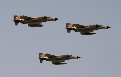İran ordusu tatbikat yaptı