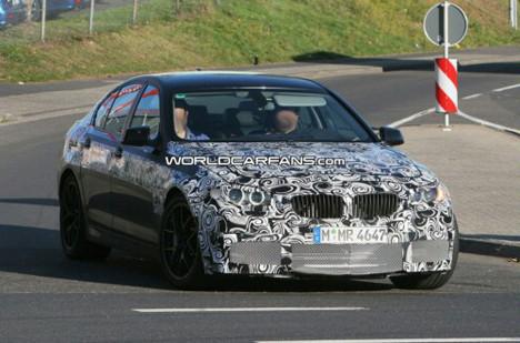 BMW M5 yakalandı