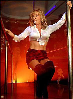 Beyazperdenin unutulmayan striptizcileri
