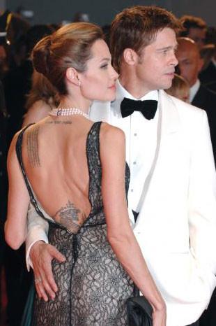 Brad Pitt ve Angelina Jolie Venedikte aşk tazeledi