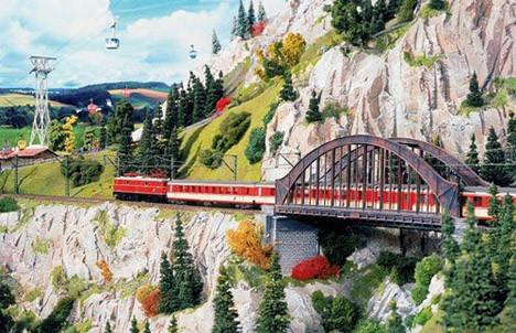 En uzun maket demiryolu