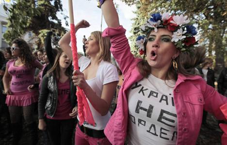 Ukraynalı kızların genelev isyanı