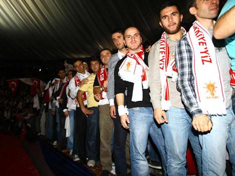 AK Parti kongresinden kareler