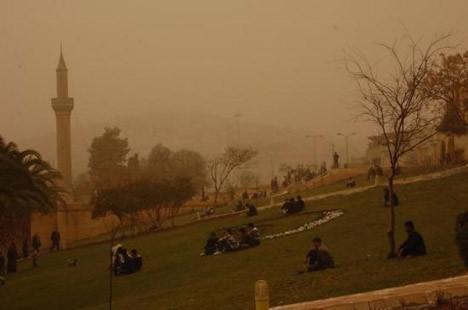 Türkiye toz bulutuna esir