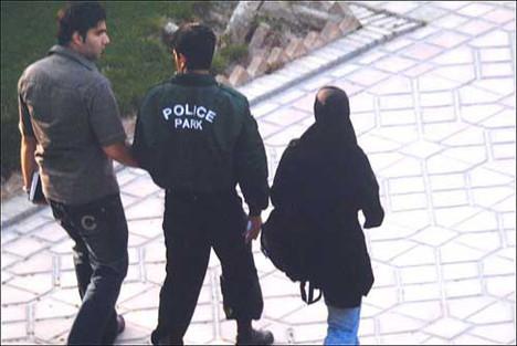 Ahlak polisine böyle yakalandılar