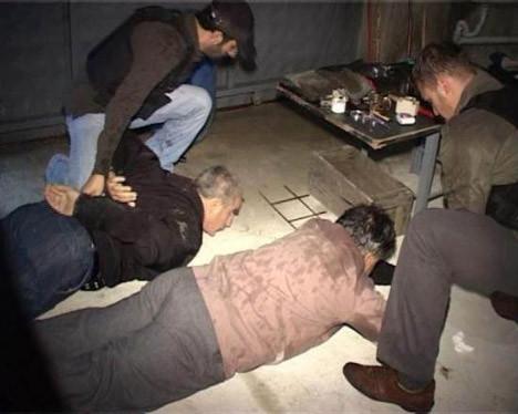 Uyuşturucu fabrikasına operasyon