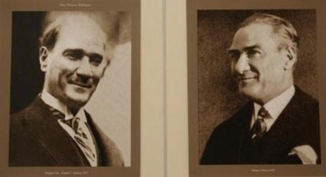 Atatürkün gülen fotoğrafları