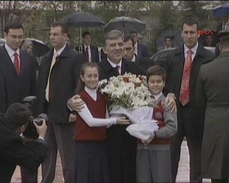 Abdullah Gül Tunceliye geldi